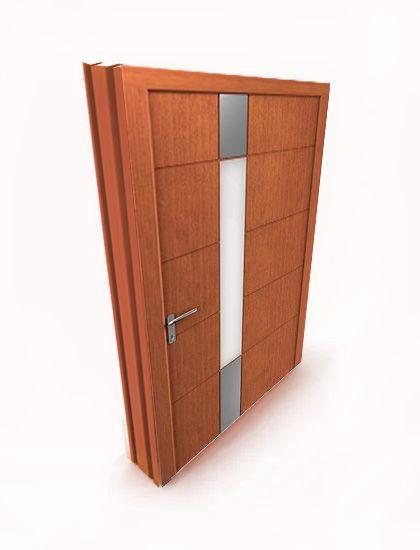 zewnętrzne drzwi drewniane DAKO