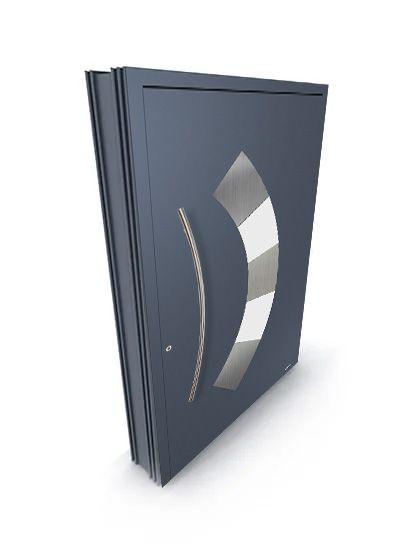 zewnętrzne drzwi aluminiowe DAKO