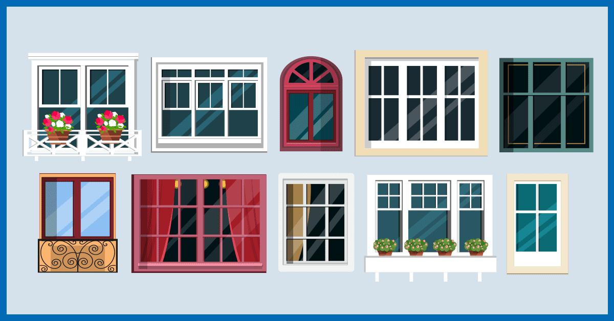 rodzaje okien