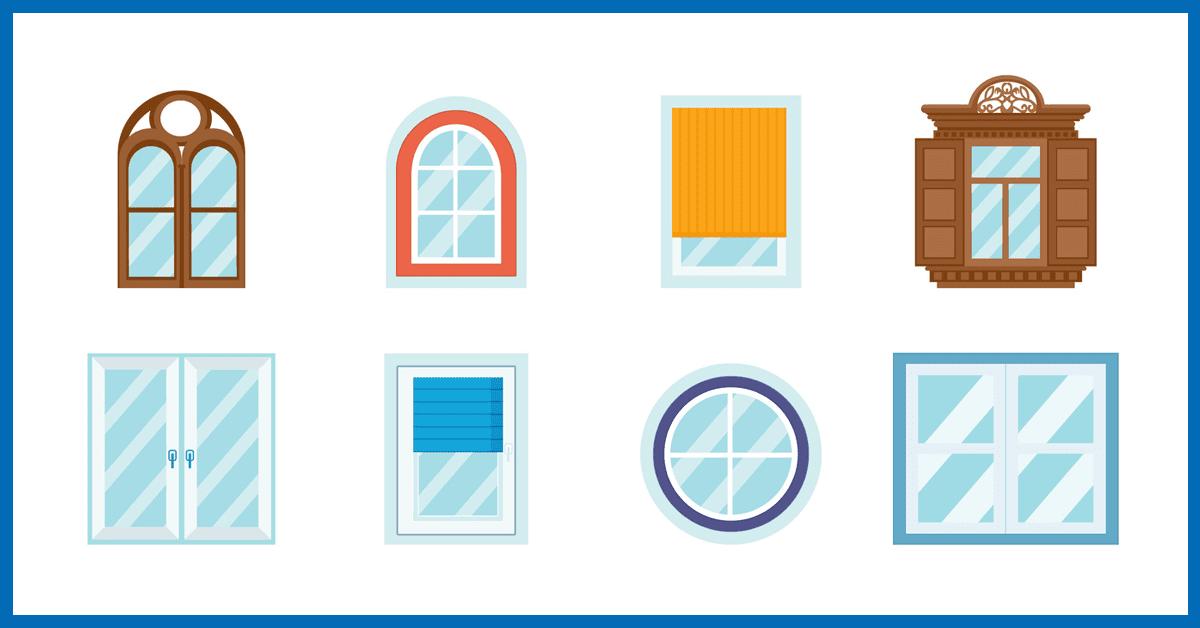 rodzaje i typy okien