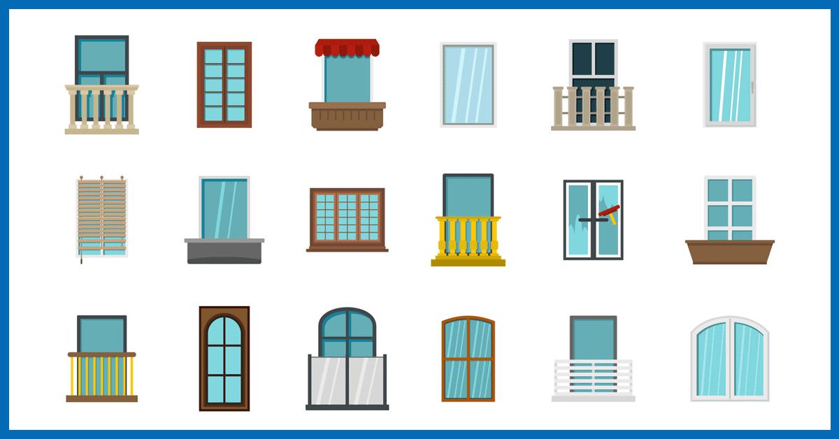 typy okien