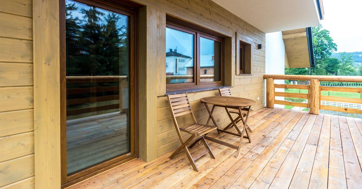 rustykalne okna DAKO 5