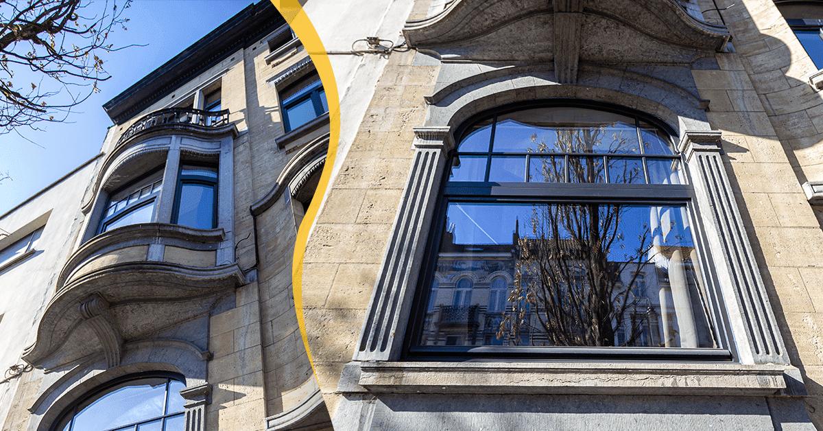 wymiana okien w zabytkowym budynku